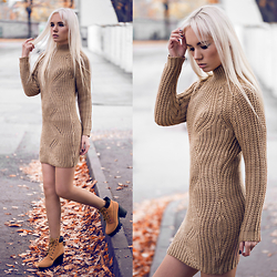 Oksana Orehhova - Axparis Jumper Dress - COLD MORNING, WARM FEELING