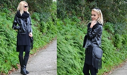ASIA (IN &OUT BLOG) - Sheinside Jacket, Zara Boots, Bershka Top - I LL NEVER STOP WEARING BLACK..