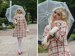 Kayla J - Bright And Beautiful Mariella Coat - 60s Coat