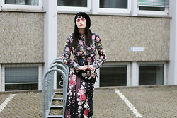 †Norelle Rheingold† - Paul Smith Blouse, Wrap Around Skirt (Kimono) - Sakura Rain