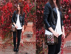 Noel Menkr - Zara Bag, Pull & Bear Boots - Sweet November