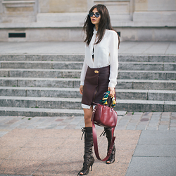Doina Ciobanu - Lace Boots - RETRO GIRL ♫