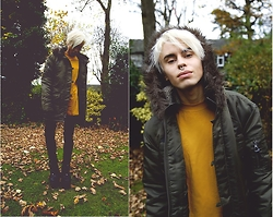 Milex X - Punkpr Jacket, Topman T Shirt, Topshop Jeans, Bufallo Boots - FAN OF AUTUMN