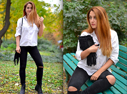 Martina Manolcheva - Zara Jeans - Very Simple