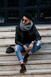 Joseef Tjoe ⚓️ - Jacket, Pants, Watch - B A C K