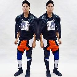 Dino Bancoro - Dinox Sportsluxe Jacket And Joggers - Edgy Sporty Rock