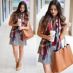 Flaunt and Center -  - Mixing prints...