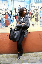 Jun D. - Primark Gilet, Zara Shopper Bag, Nelly Boots - Simplicité confortable