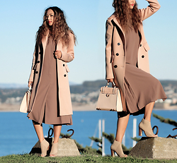 Queen Horsfall - Forever 21 F21, Sarah Lai, Nina Shoes, Queenhorsfall - Neutral Hues for Winter