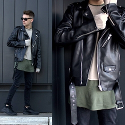 StreetFashion101 - Zara Jacket, Zara Sweater, Bershka Jeans, Bershka Sneakers - Not Too Late
