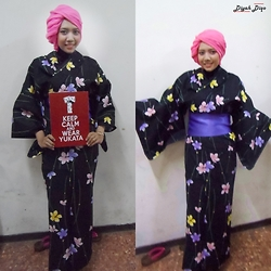 Diyah Diqo -  - Keep Calm And Wear Yukata