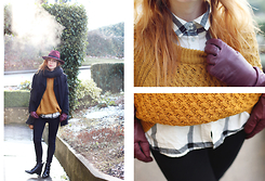 Patty . - Asos Hat, H&M Sweater, Asos Boots - HI THERE
