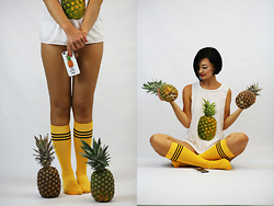 Aleksandra L. - Cndirect Top, Cndirect Socks - HOW MANY PINAPLE?