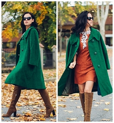 Veronica P -  - The green coat