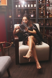Whitney Valverde -  - Editorial at la Maison Remy Martin