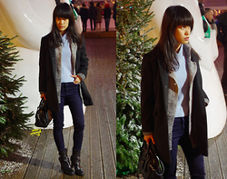 Clara . - Topshop Coat - Layers