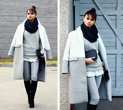 Anna Mour ♥ - Cndirect Grey Sweater - My shades of grey