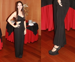 Rosana Vieira - Bershka Jumpsuit, Seaside Shoes (Old) - Partyy