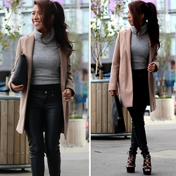 Sindy N - Coat, Top, Pants, Shoes - Lunchin'