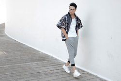 Thanh Truong - Vck Coat, B21 Pant, Adidas Sneaker - The.Sadness.you.cant.see