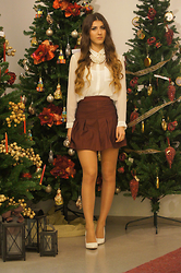 Tamy's Fashion World - Pull & Bear Necklace, H&M Shirt - Santa tell me...