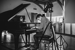 Kit Marsden - Levi's® Levi's 510 Jeans, River Island Check Shirt, Frank Wright Military Boots, Steinway Grand Piano, Aberlour A Bunadh Single Malt Whisky, Giorgio Armani Watch - When The Autumn Comes