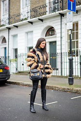 Maria Jesus Garnica - Highly Preppy Fur Coat - Yeti Coat