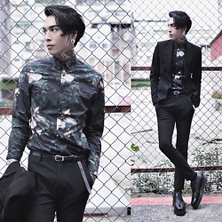 IVAN Chang - H&M Shirt, Asos Pants, Underground Shoes - 231215 TODAY STYLE