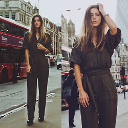 Jamie L ♡ - Pepe Jeans Jumpsuit, Shabbies Amsterdam Boots, Prisma Watches Watch - YOU'RE LIKE A DREAM COME TRUE