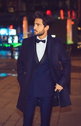 Raphaël Spezzotto-Simacourbe - Reiss Suit - Dapper for New Year's Eve