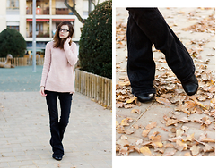 Lix H. - Specspost Glasses, Zara Jeans, Clarks Booties, Primark Sweater - A Warm Winter