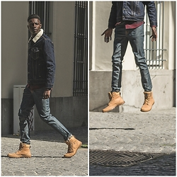 Jon The Gold - Levi's® Denim Jacket, Nudie Jeans, Palladium Boots - Denim Tuesdays
