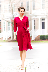 Red Reticule -  - Raspberry Glow - Karina Dresses
