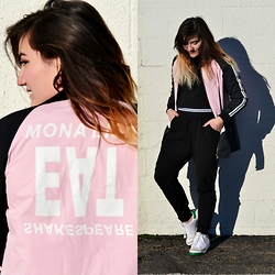 Linda B - Boylymia Baseball Jacket - Mona Lisa Eat Shakespeare