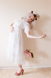 Elodie De Frise - Dresslink Bohemia Chiffon Dress, Liz Lisa Old Pink Shoes - Loving you is hard, being here is harder ♫