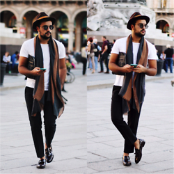 Kubilay Sakarya - Zara, Que Official Black Pant, Que Loafer Shoes - Duomo Milano