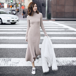 Jenny Tsang - Dress, Sneaker - New-School Knit