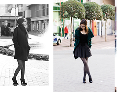 Lix H. - Esprit Coat, Calzedonia Tights, Clarks Shoes - Icicles