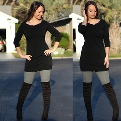 Amie -  - Sweatshirt Dress