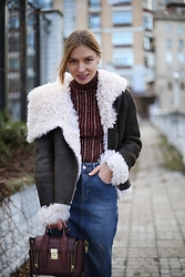 Valeriya Sytnik - Asos Skirt, Asos Top, Phillip Lim Bag - New York style