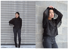 Thuy Pham - H&M Sweater, Zara Pants, F&F Ankle Boots, Zara Top - Fringes