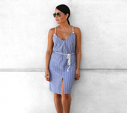 Kimbly Wright - Hanellei Demi Stripe Dress - Summer Stripes