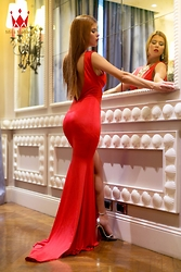 Evgenia A -  - I saw you in Red --- Miss Monaco contestant