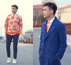Chris Su - Moschino Top, Lanvin Coat - Winter Chill