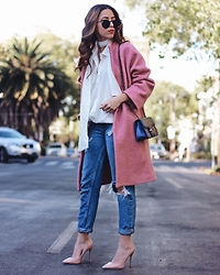 Andrea Nahle - Outfit Details On My Blog - CHILLY IN PINK