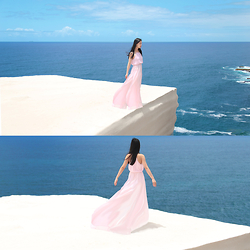 Cissy Zhang - Yoyomelody Pink Maxi Dress - Fly