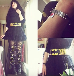 Amethyst . - Hottopic Batman Utility Belt, Hottopic Batman Tights, Hottopic Pokemon Bracelet - Batman and new-things-itis
