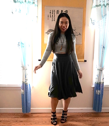 Juliet Ly - Dressin Crop Top - Circle Skirts