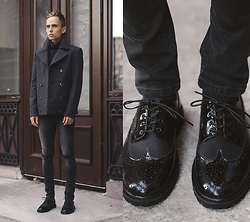 Daniil Shamatrin - Coat, Shoes - The Neighbourhood – How