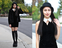 Ami Amour -  - Wednesday Addams Dress